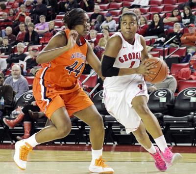 Georgia Women's Basketball versus Auburn