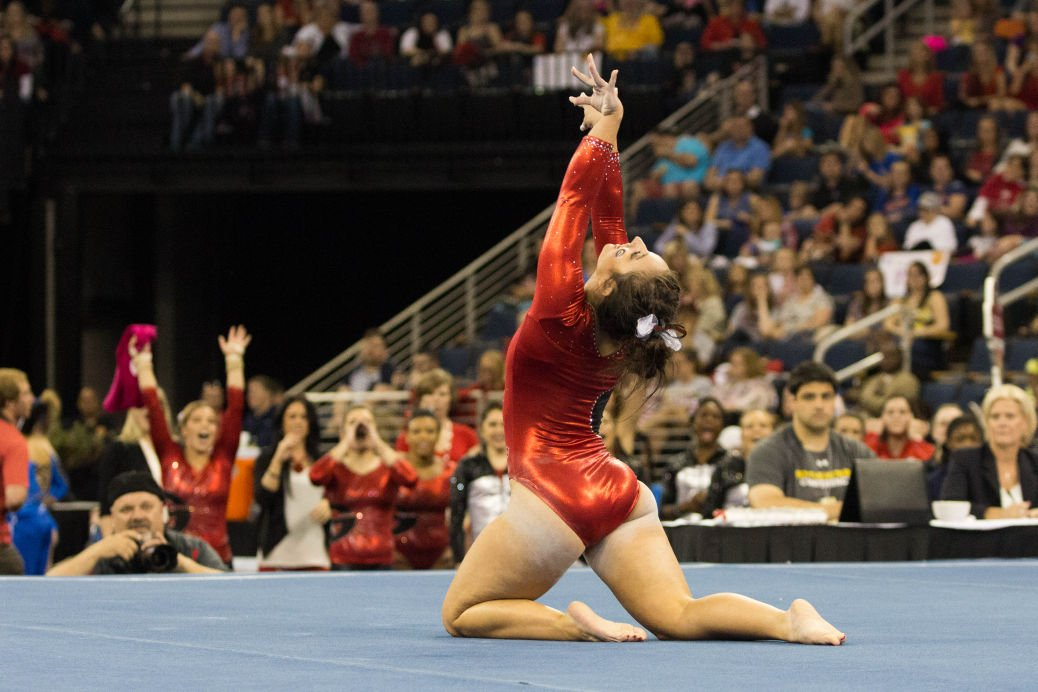Floor Dictionary Part 1: Learning What Goes Into A Floor Routine | Sports |  Redandblack.com