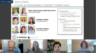 Sustainability town hall 4/19
