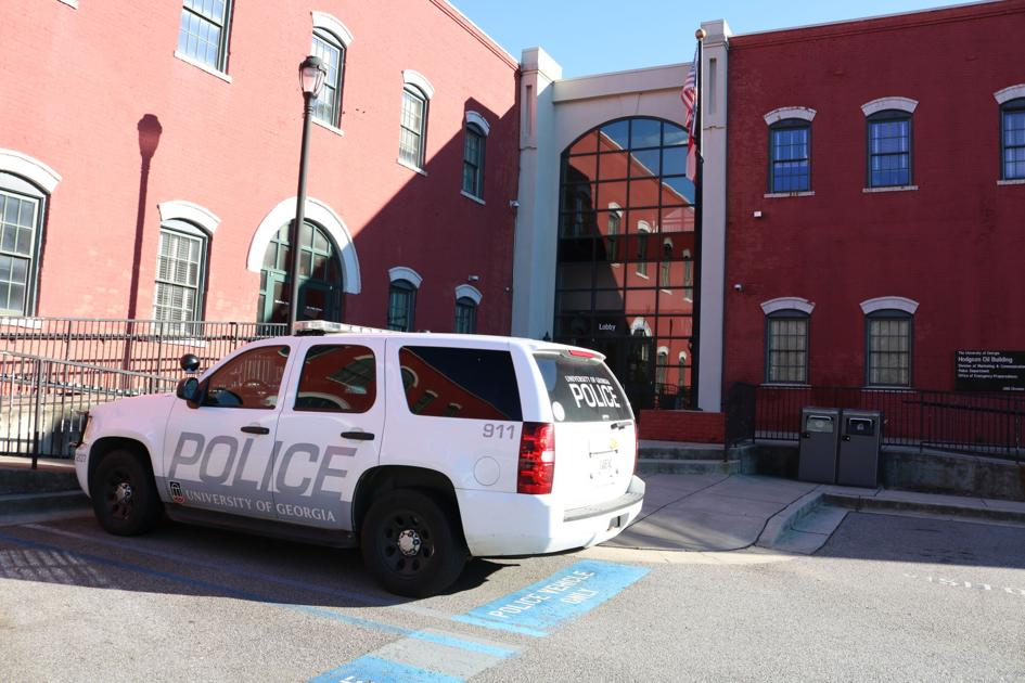 UGA police blotter: Chapel windows damaged, paintball spatter found in dorm and more