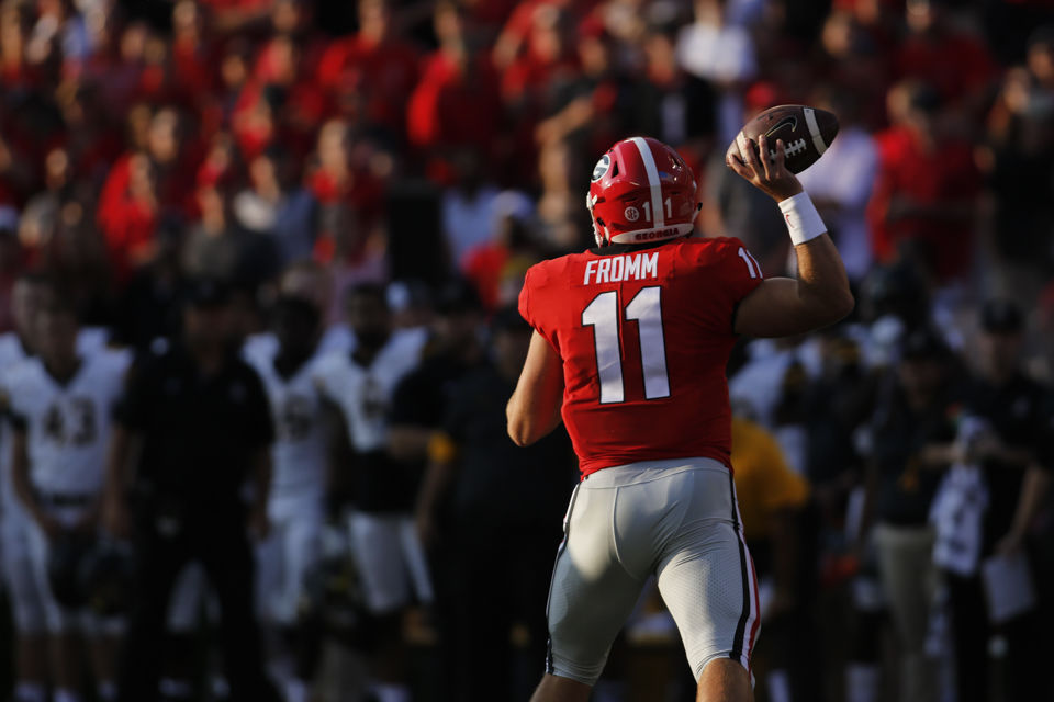7d00b428f Georgia teammates express confidence in Jake Fromm ahead of the first start  of his career
