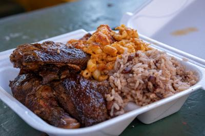 Jerk Chicken from Kelly's Authentic Jamaican Food