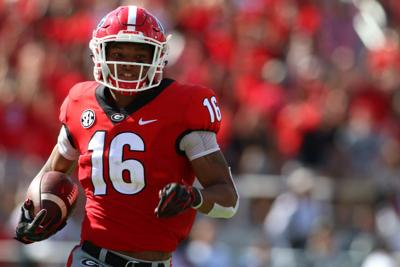 A tale of two transfers  Comparing Georgia transfer wideouts Demetris  Robertson and Lawrence Cager 8154c37fc