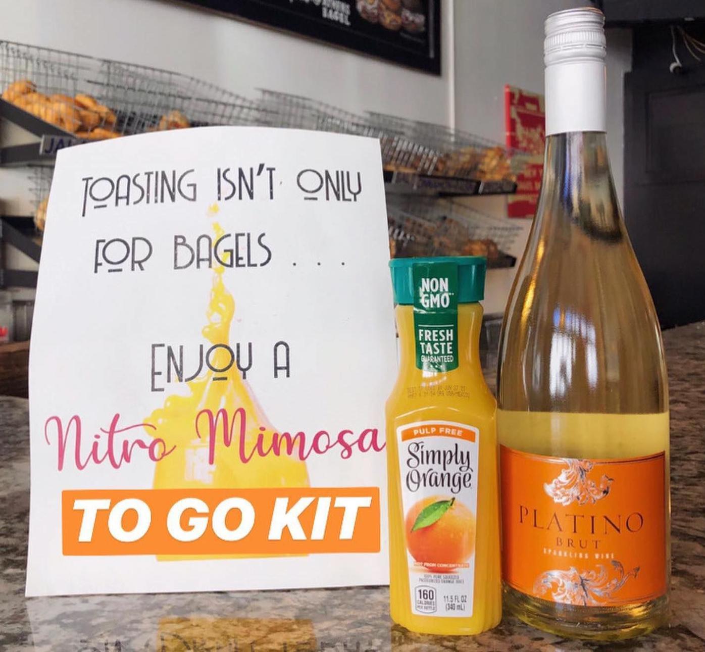 Athens Bagel Mimosa Kit