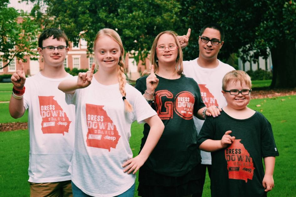 Extra Special People, SGA initiative encourages football fans to dress down for Down syndrome awareness