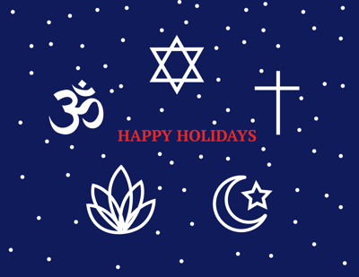Different religions and the holiday season_graphic