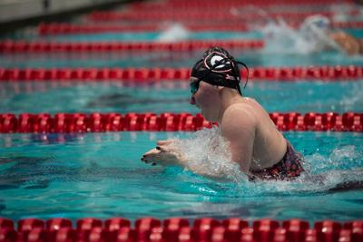 Georgia women's swimming and diving in 23rd place after second day of NCAA championships