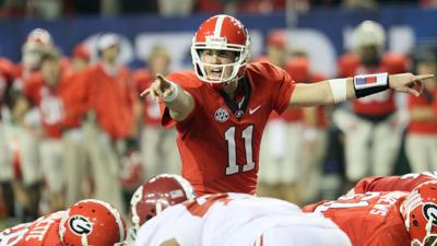Aaron Murray at 2012 SEC championship