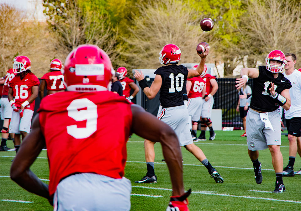 Georgia QB Jacob Eason Injures Leg Against Appalachian State