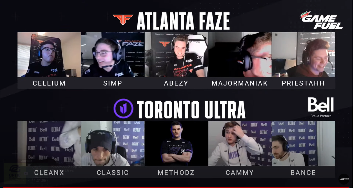 Atlanta FaZe vs. Toronto Ultra