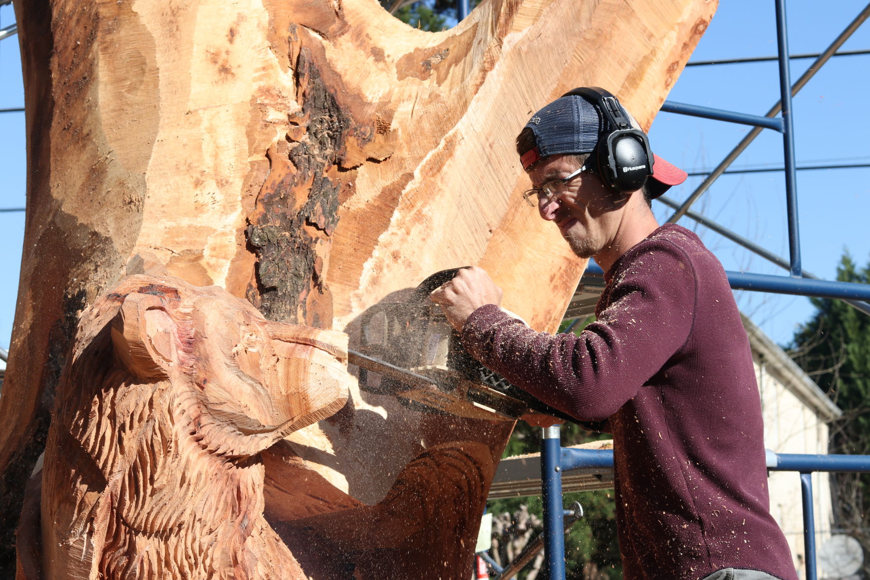 Darrel radcliffe chainsaw carver albany wa home facebook