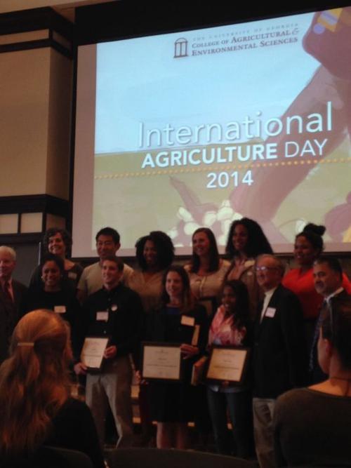 Uga Celebrates International Agriculture Business Honors Retired