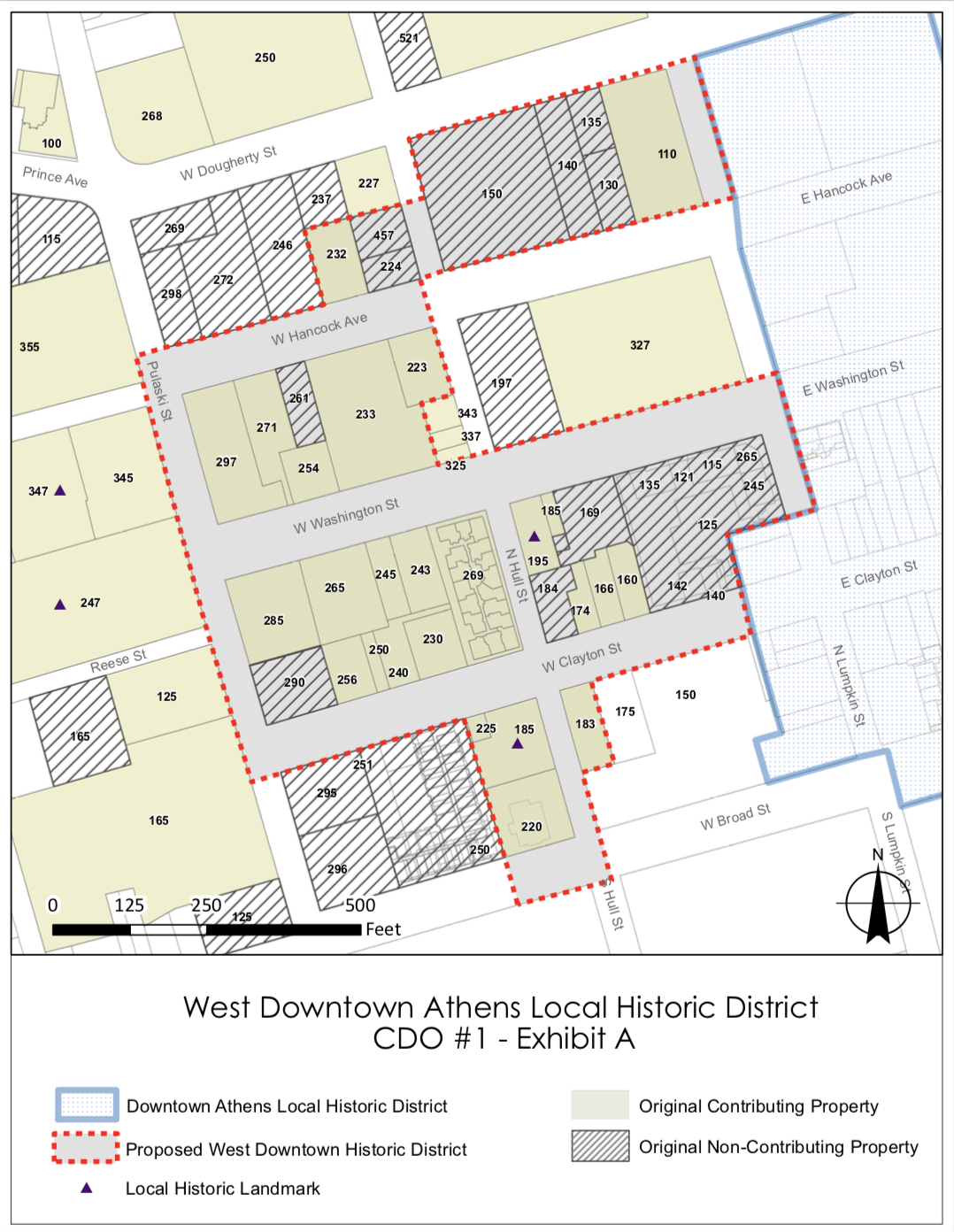 approved western historic district