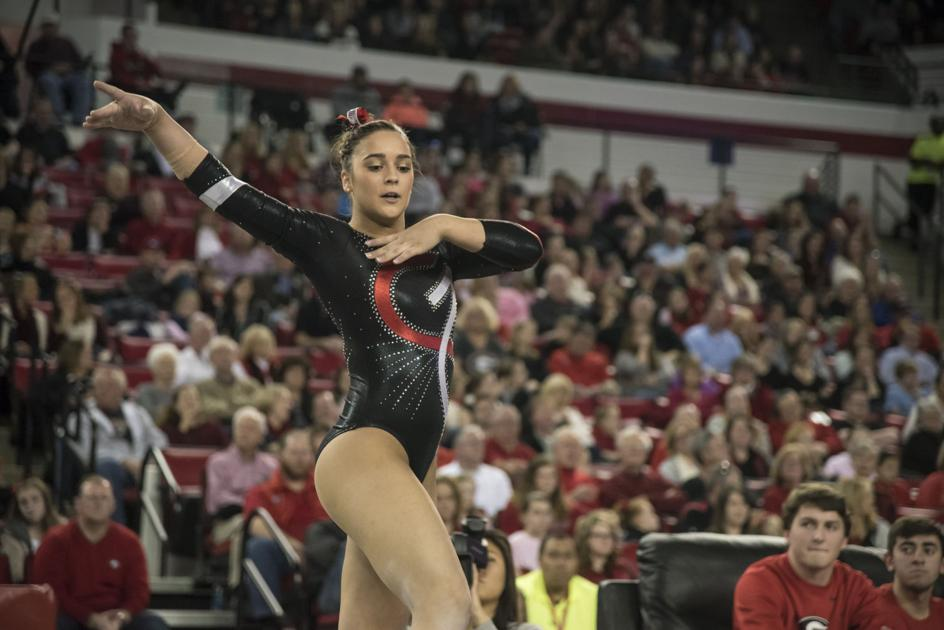 gymnast Vivi Babalis' captivating