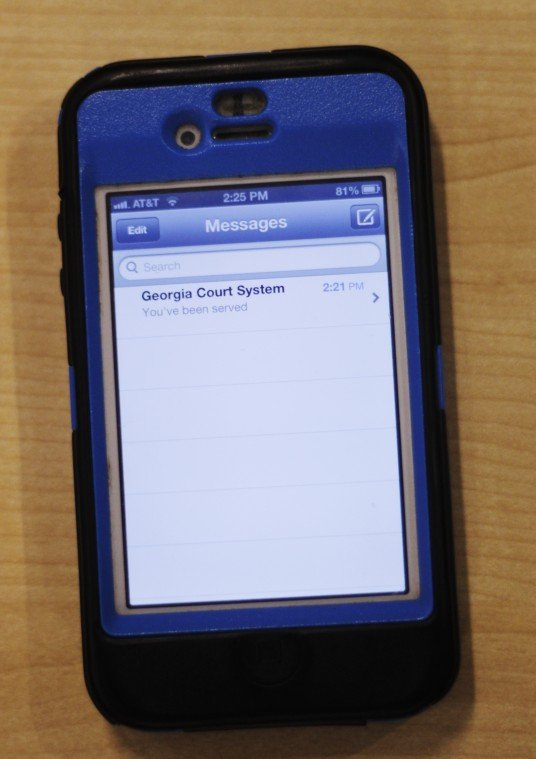 Can text messages be used as evidence in court