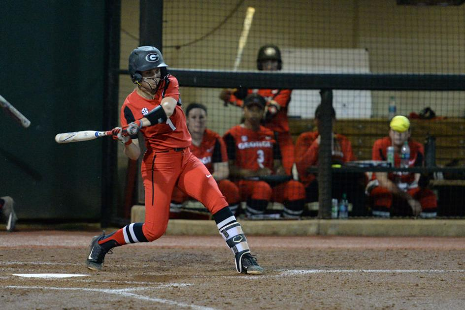 Georgia softball heats up at the plate, defeats James Madison in six innings