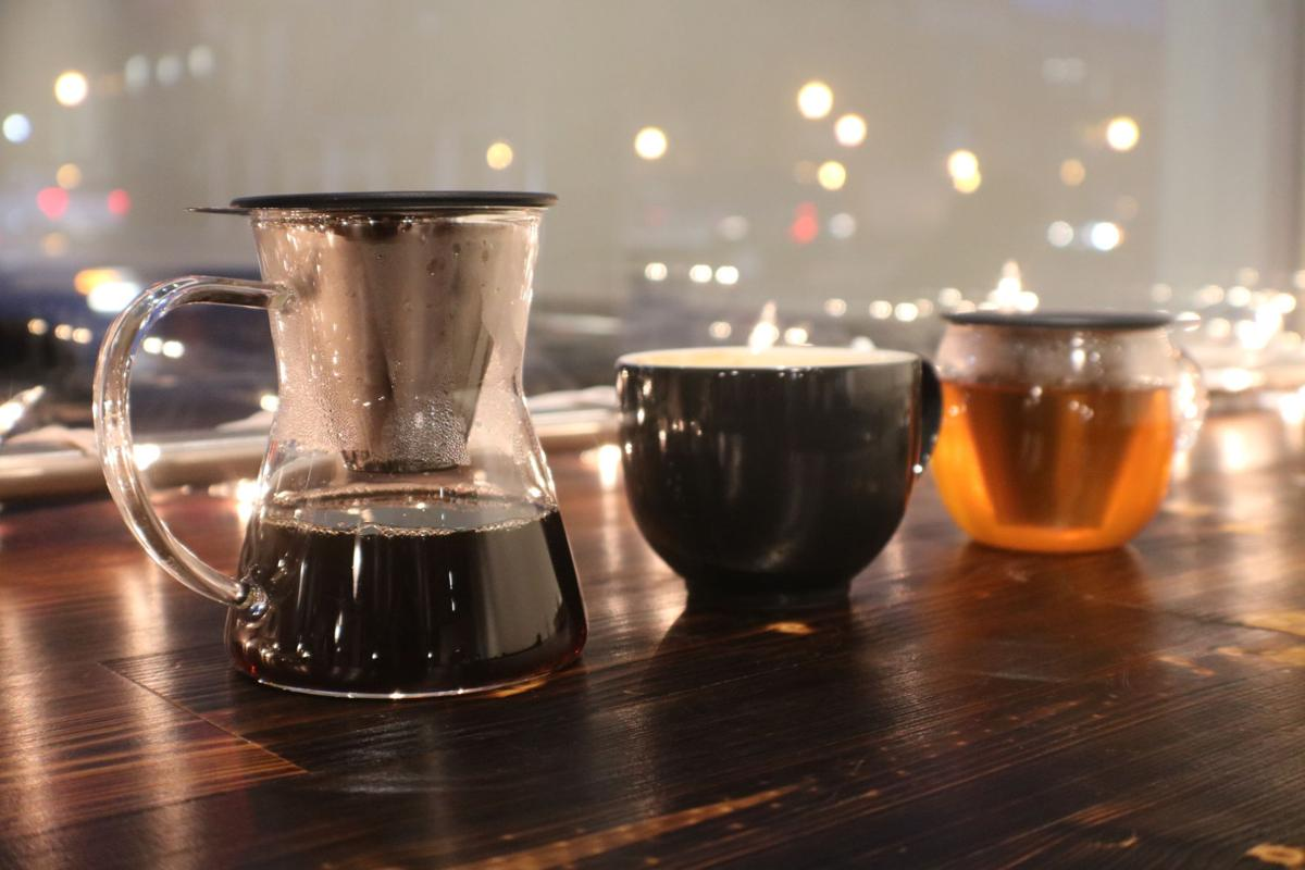Coffee hot tea etc. Franklin House Cafe