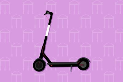 scooters on campus