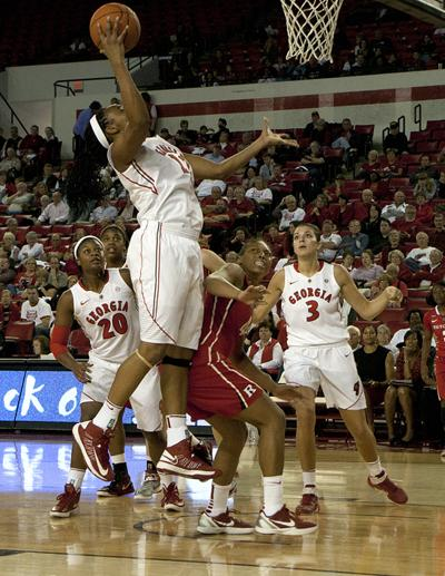 Georgia Women S Basketball Beats Rutgers 57 51 In Season