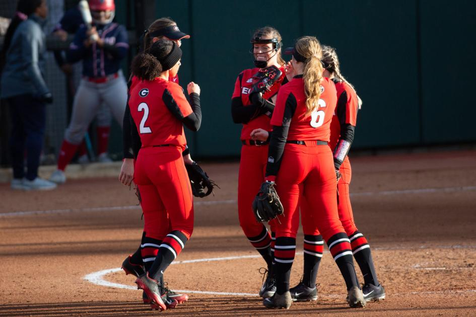 Georgia softball opens 5-game weekend with victories over Central Michigan and James Madison