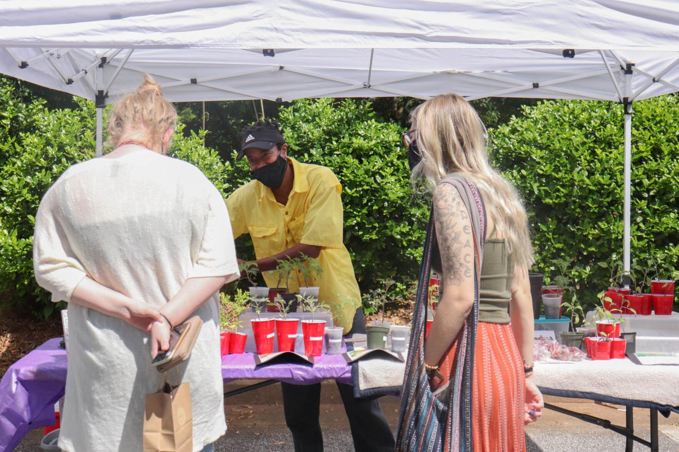 PHOTOS: Athens' West Broad Farmers Market celebrates May Day