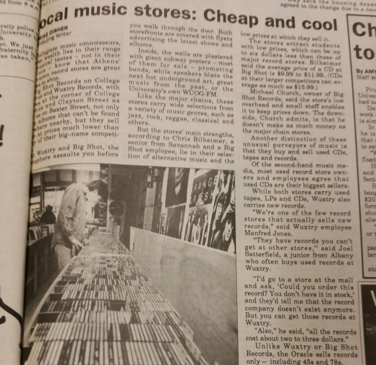 A timeline of Wuxtry Records in Athens | Culture