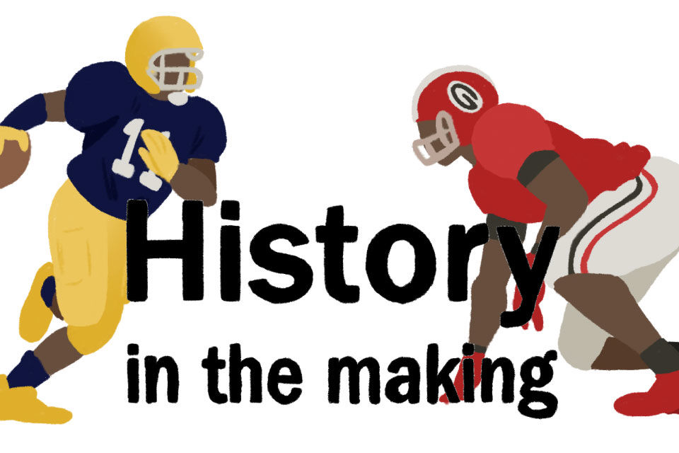 History in the making graphic