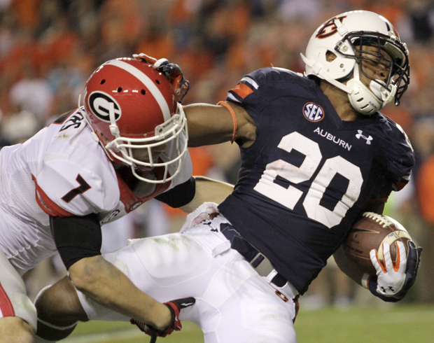 Georgia Football versus Auburn | Photo Galleries ...