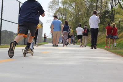 Greenway expansion pedestrians