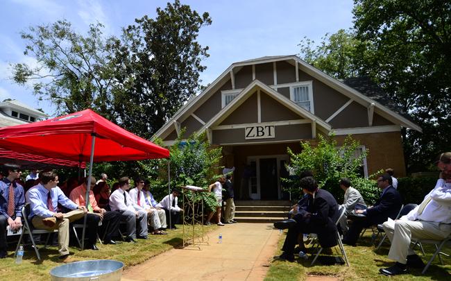 ZBT House & ZBT unveils new fraternity house on Milledge Ave. | News ...