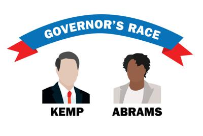 governor's race illustration