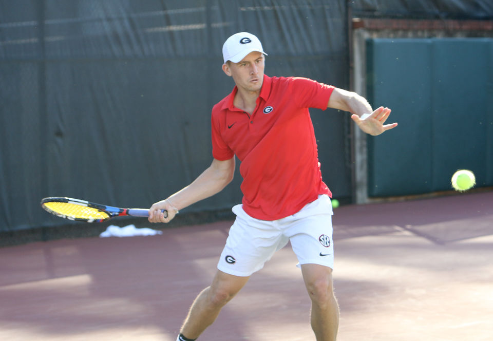 Georgia men's tennis takes apart Mercer for 6-1 win ...