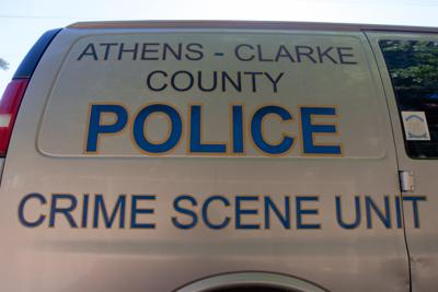 police crime scene unit truck