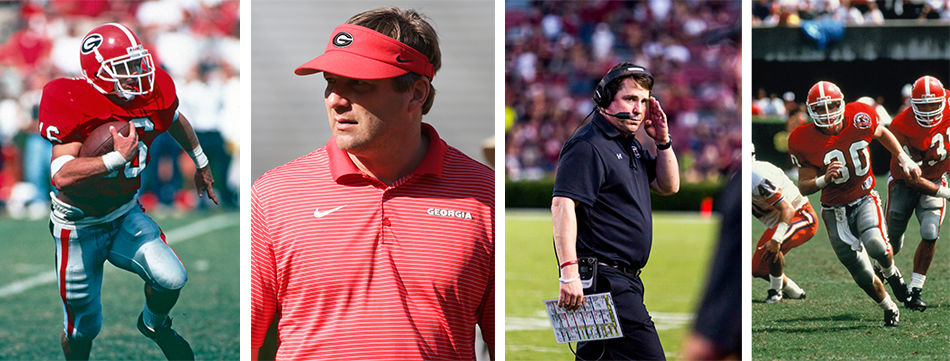 Kirby Smart and Will Muschamp: A matchup 22 years in the ...