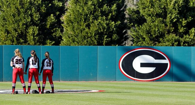 Georgia Softball Vs Georgia Southern Softball