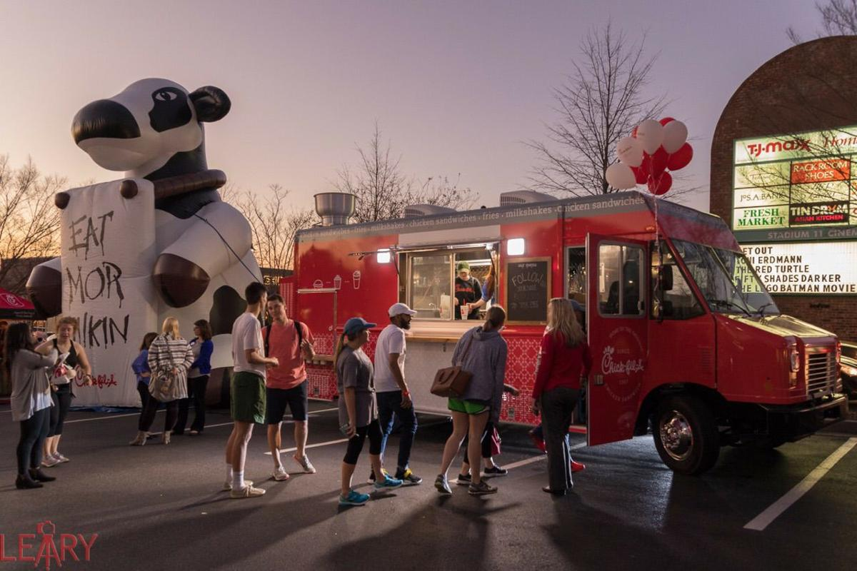 At the end of february chick fil a premiered the newest addition to the beechwood and barnett shoals locations a food truck photo courtesy haley simmons