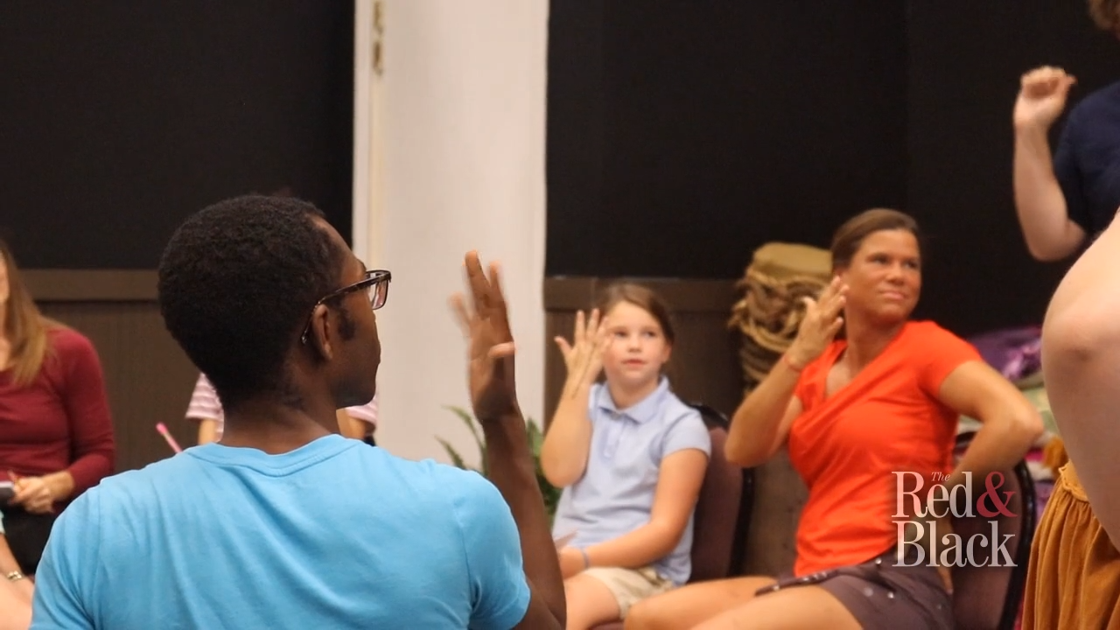 VIDEO: Athens Creative Theatre, Hands In! use theater to teach sign language
