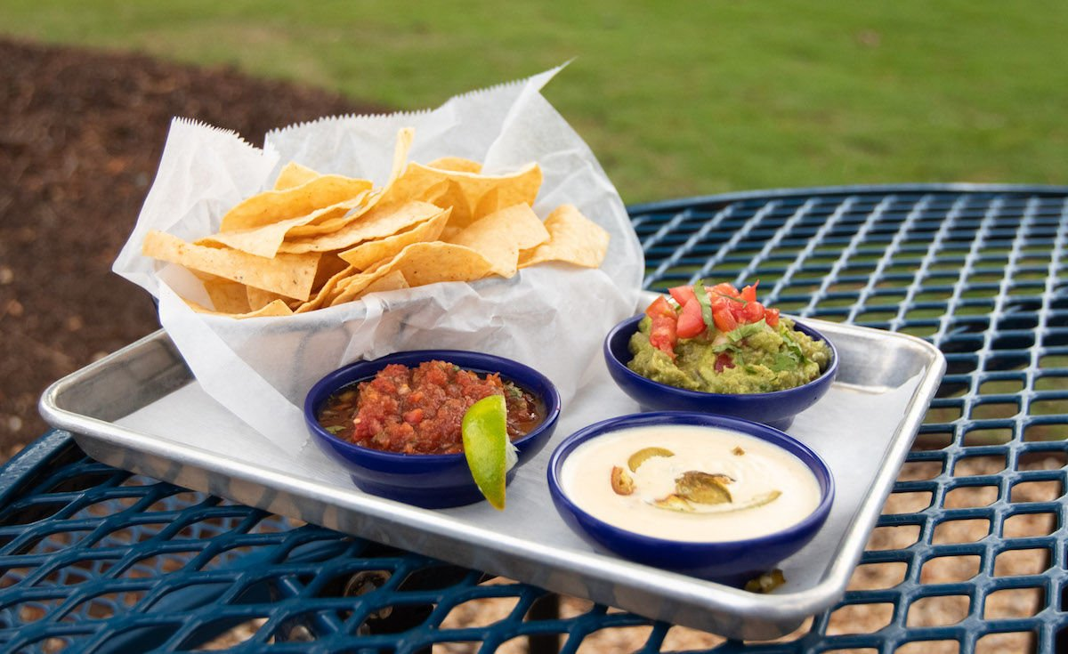 El Barrio chips and dips