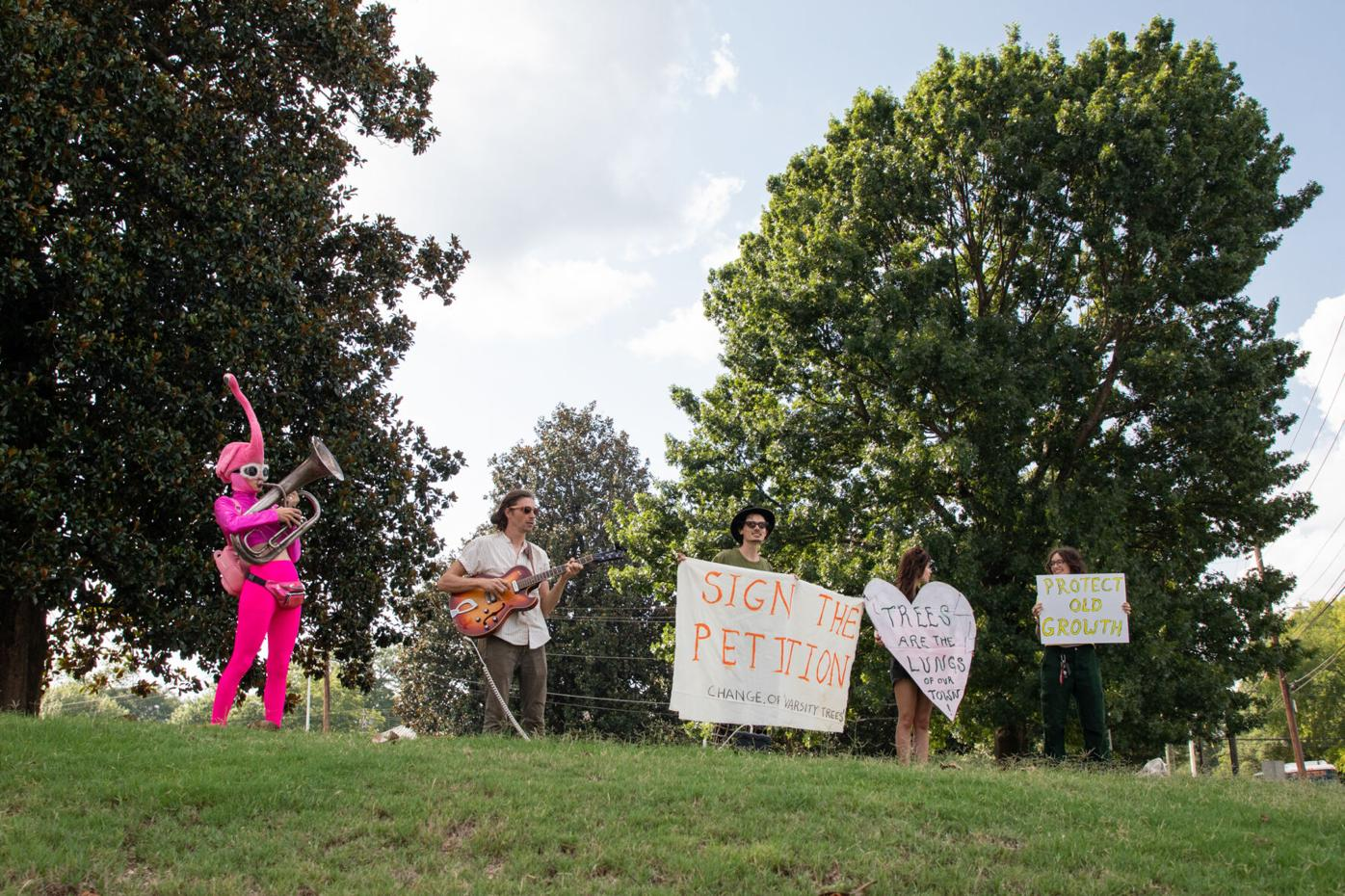 PHOTOS: Athens residents rally to save greenspace
