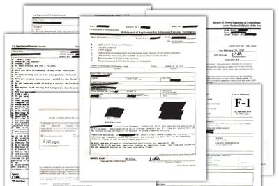 Detained Student Paperwork Graphic