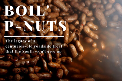 Boiled peanuts have a long history as the South's preferred gameday snack