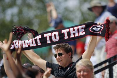 Georgia soccer scarves