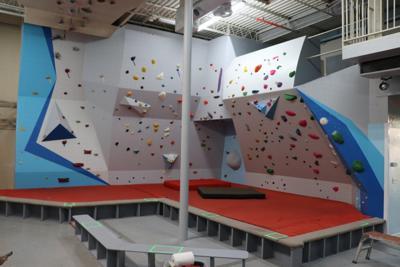Active Climbing Gym Wall