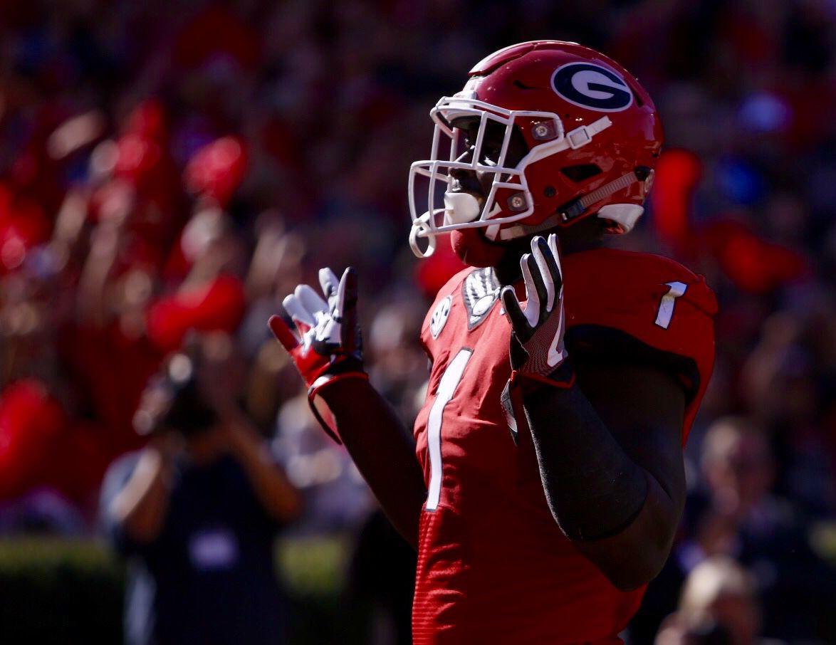 Brandon Kublanow Georgia Bulldogs Football Jersey Black