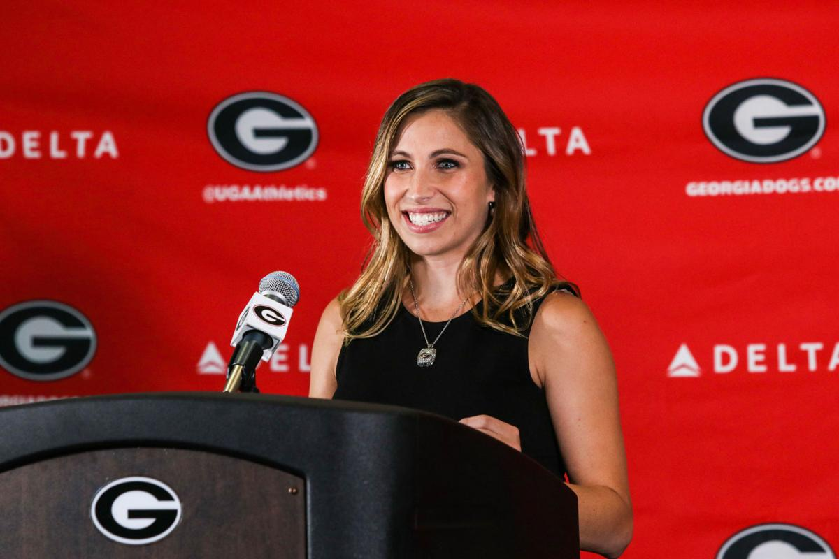 uga gymnastics coach courtney kupets carter announces 2017 18