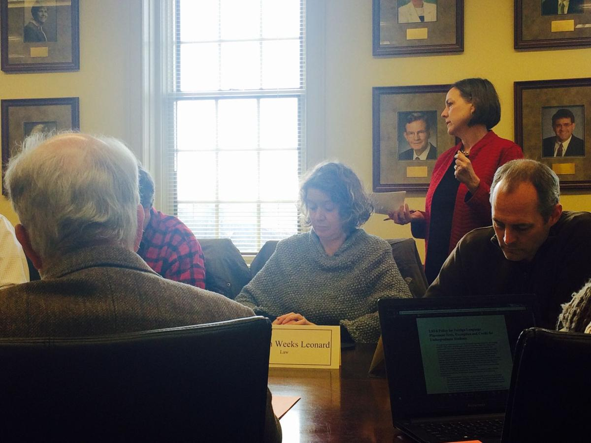 University Curriculum Committee Approves New Emphases Dual Degree