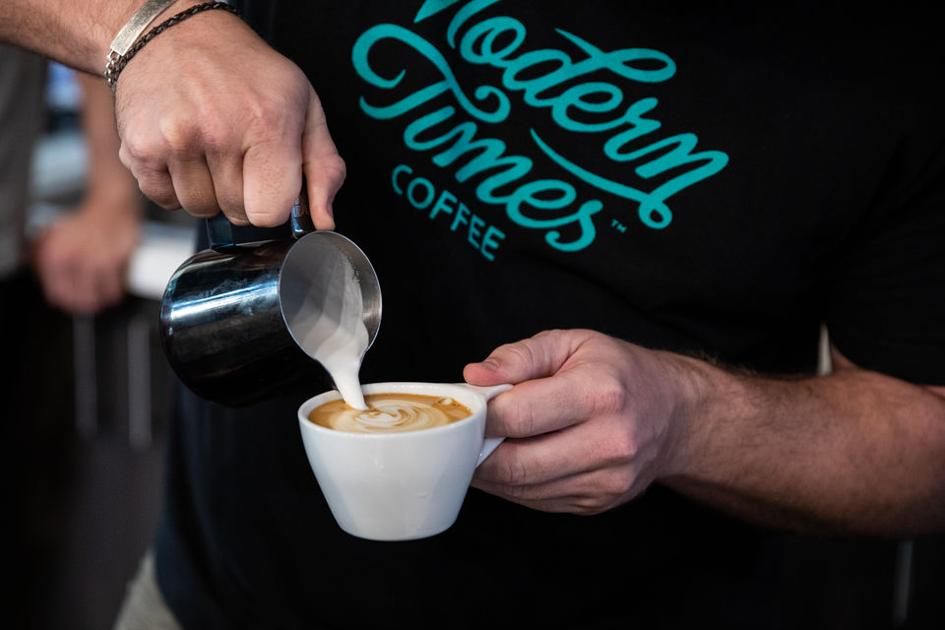 PHOTOS: 1000 Faces Coffee hosts latte art-making competition