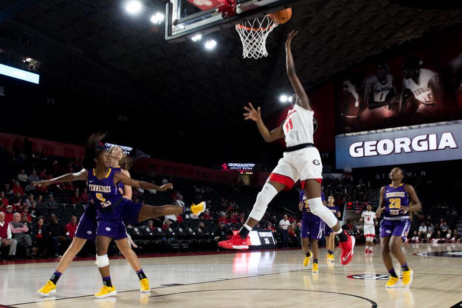 Georgia women's basketball beats North Florida in final ...