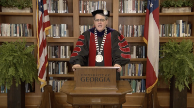 jere at fall 2020 virtual commencement