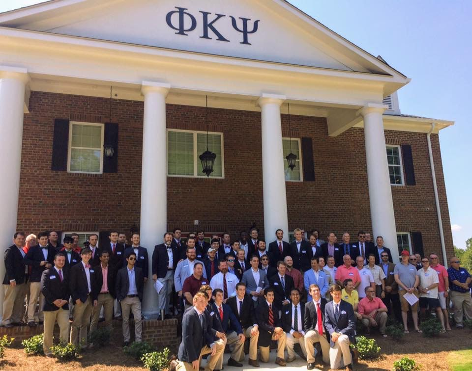 mi Religioso colgar  UGA Phi Kappa Psi opens new fraternity house | UGAnews | redandblack.com